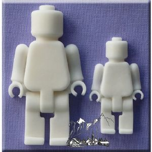 Alphabet Moulds Brick Men